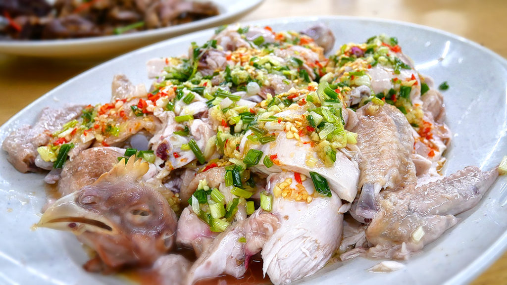 Scallion Oil Chicken from Teochew Big Brother