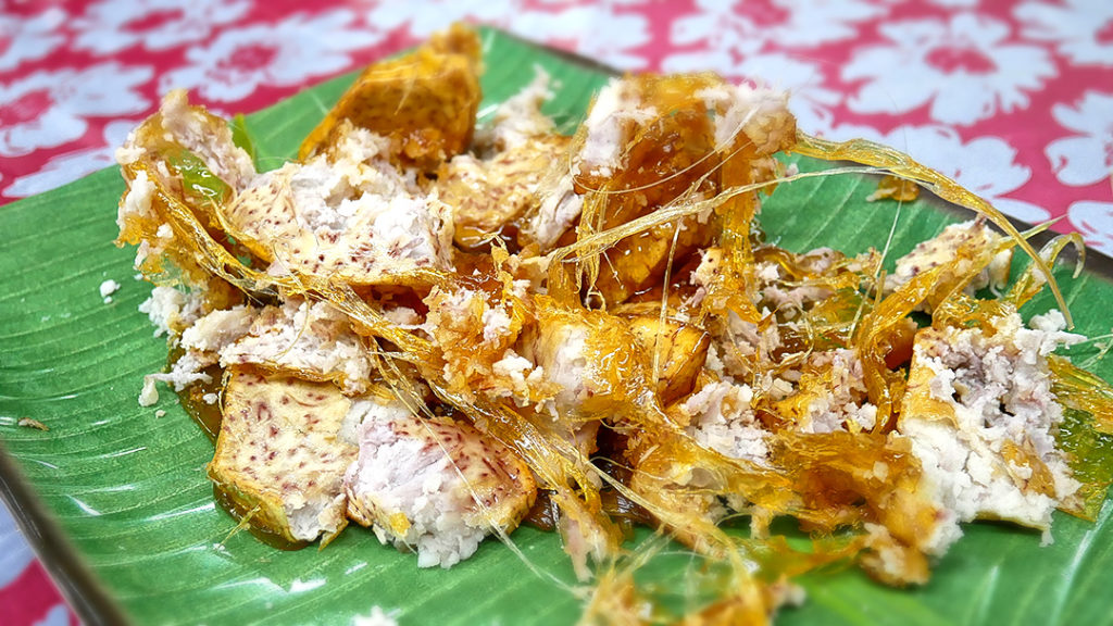 Sugar Coated Fried Yam from Teochew Big Brother