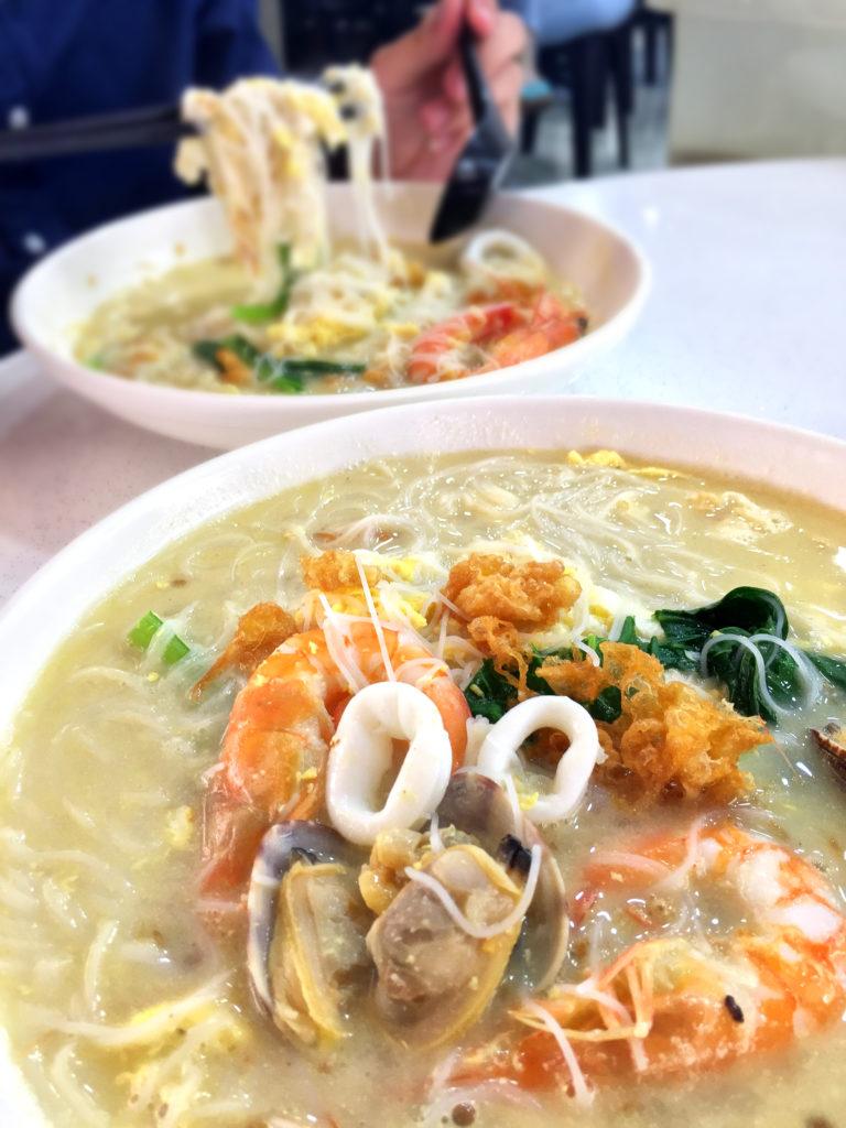 xin long xin seafood white beehoon